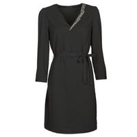 material Women Short Dresses Ikks BR30265 Black