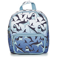 Bags Boy Rucksacks CARAMEL & CIE MINI BACKPACK SHARKS Blue