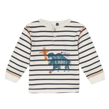 material Boy Long sleeved shirts 3 Pommes 3R10073-11 Multicolour