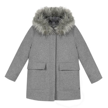 material Girl coats 3 Pommes 3R44034-220-C Grey