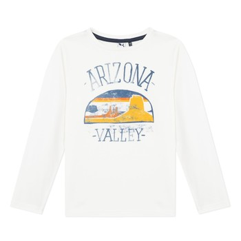 material Boy Long sleeved shirts 3 Pommes 3R10005-19-C White