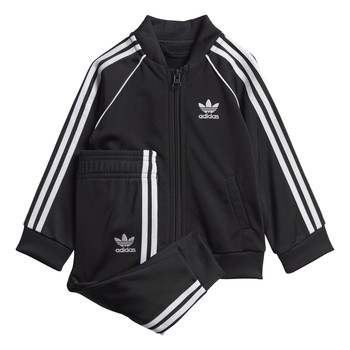 material Children Sets & Outfits adidas Originals SST TRACKSUIT Black
