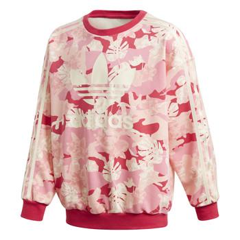 material Girl sweaters adidas Originals CREW Pink