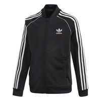material Children Jackets adidas Originals SST TRACKTOP Black