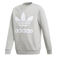 material Boy sweaters adidas Originals TREFOIL CREW Grey