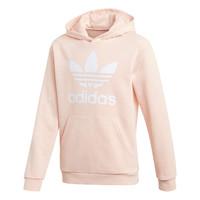 material Girl sweaters adidas Originals TREFOIL HOODIE Pink