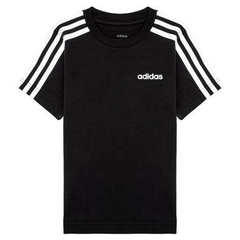 material Boy short-sleeved t-shirts adidas Performance YB E 3S TEE Black