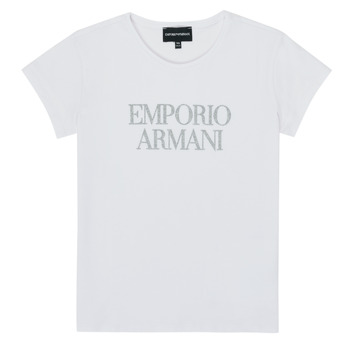 material Girl short-sleeved t-shirts Emporio Armani 8N3T03-3J08Z-0100 White