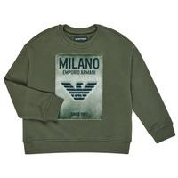 material Boy sweaters Emporio Armani 6H4MM1-4J3BZ-0564 Kaki