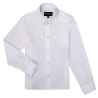 material Boy long-sleeved shirts Emporio Armani 8N4CJ0-1N06Z-0100 White