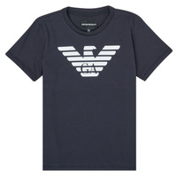 material Boy short-sleeved t-shirts Emporio Armani 8N4T99-1JNQZ-0939 Marine
