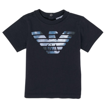 material Boy short-sleeved t-shirts Emporio Armani 6HHTA9-1JDXZ-0920 Marine