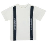 material Boy short-sleeved t-shirts Emporio Armani 6HHTG4-1JTUZ-0101 White