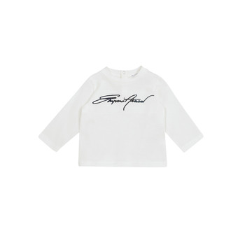 material Boy Long sleeved shirts Emporio Armani 6HHTJN-1JTUZ-0101 White