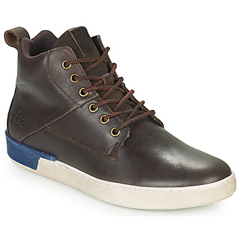 Shoes Men High top trainers TBS SANDJAY Brown