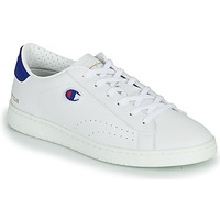 Shoes Men Low top trainers Champion COURT CLUB PATCH White / Red / Blue