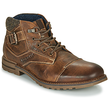 Shoes Men Mid boots Bugatti NIL Brown