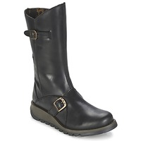 Shoes Women Boots Fly London MES2 Black