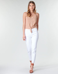 material Women 5-pocket trousers Only ONLEMILY White
