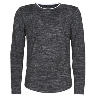 material Men Long sleeved shirts Deeluxe MOHANSON Grey / Dark