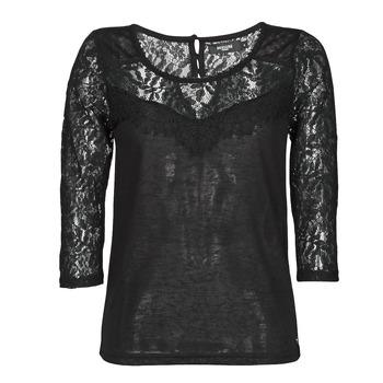 material Women Long sleeved shirts Deeluxe SANDY Black
