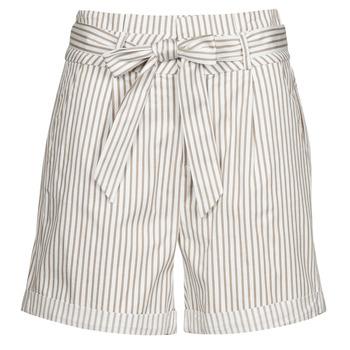 material Women Shorts / Bermudas Vero Moda VMEVA White / Beige