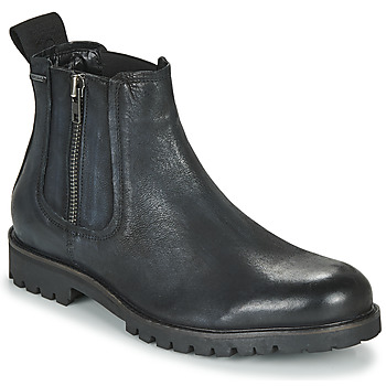 Shoes Men Mid boots Pepe jeans MELTING CHELSEA Black