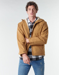 material Men Blouses Dickies DUCK SHERPA Brown