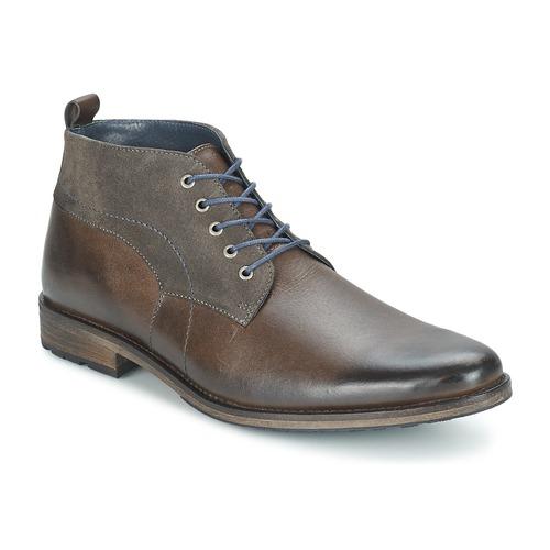 Shoes Men Mid boots Casual Attitude RAGILO Taupe