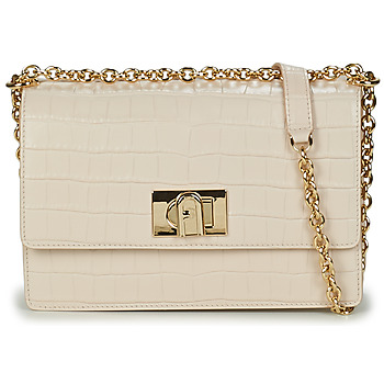 Bags Women Shoulder bags Furla FURLA 1927 S CROSSBODY 24 Cream