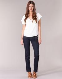 material Women straight jeans Pepe jeans VENUS Blue / M15