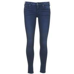 material Women cropped trousers Pepe jeans LOLA Blue / Raw