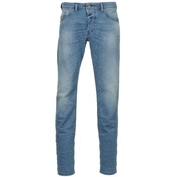material Men straight jeans Diesel BELHER Blue / Clear