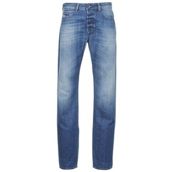 material Men straight jeans Diesel BUSTER Blue / Clear