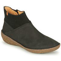 Shoes Women Mid boots El Naturalista BORAGO Black