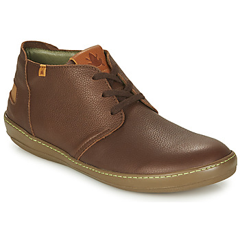Shoes Men Mid boots El Naturalista METEO Brown