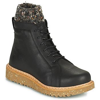 Shoes Women Mid boots El Naturalista PIZARRA Black