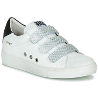 Shoes Women Low top trainers Semerdjian VIP White / Silver