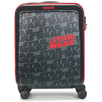 Bags Hard Suitcases American Tourister FUNLIGHT STAR WARS SPINNER 55 CM Grey