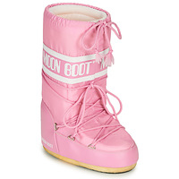 Shoes Women Snow boots Moon Boot MOON BOOT NYLON Pink