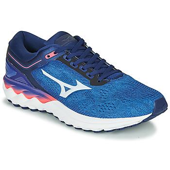 Shoes Men Running shoes Mizuno WAVE SKY RISE Blue