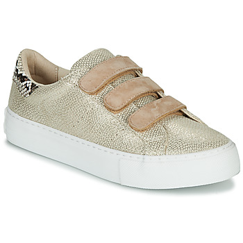 Shoes Women Low top trainers No Name ARCADE STRAPS Beige