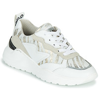 Shoes Women Low top trainers Meline DA7071 White / Gold