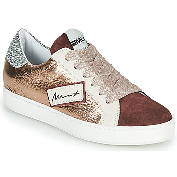 Shoes Women Low top trainers Meline IN5051 Pink / Gold