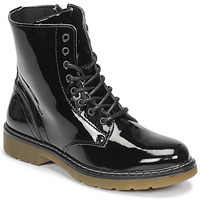 Shoes Girl Mid boots Bullboxer AOL501E6LGBKPT Black