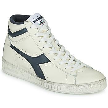 Shoes High top trainers Diadora GAME L HIGH WAXED White / Blue