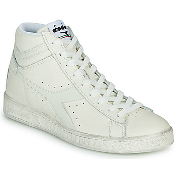 Shoes High top trainers Diadora GAME L HIGH WAXED White