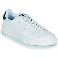 Shoes Low top trainers Diadora GAME L LOW OPTICAL White / Blue