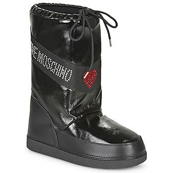 Shoes Women Snow boots Love Moschino JA24022G1B Black