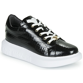 Shoes Women Low top trainers Love Moschino JA15494G0B Black